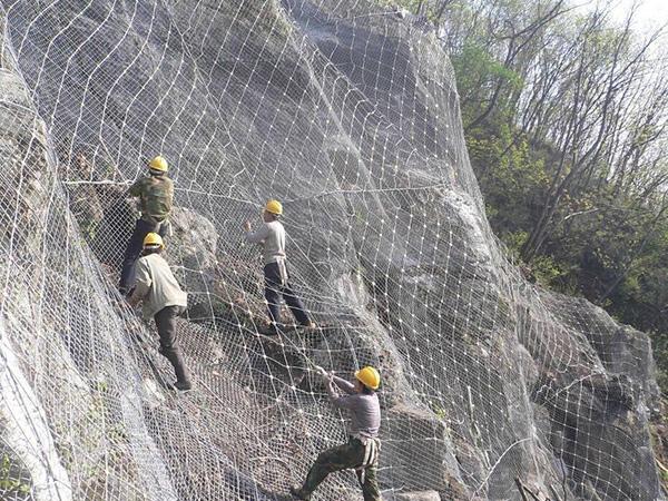 河南三门峡边坡治理项目工程