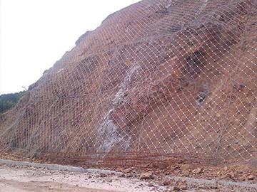 柔性山坡防护网