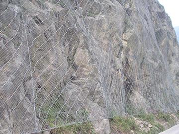 主动边坡防护网